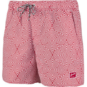 "speedo Vintage Printed 14"" Watershorts Men Red/White"